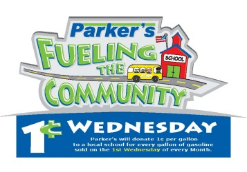 Parker s Fueling the Community program logo