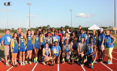 2013 SEBHS Girls & Boys Track Team