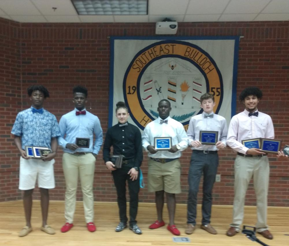 Boys Basketball Banquet Winners